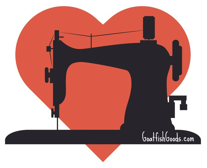 Love Your Machine {goatfishgoods.com}