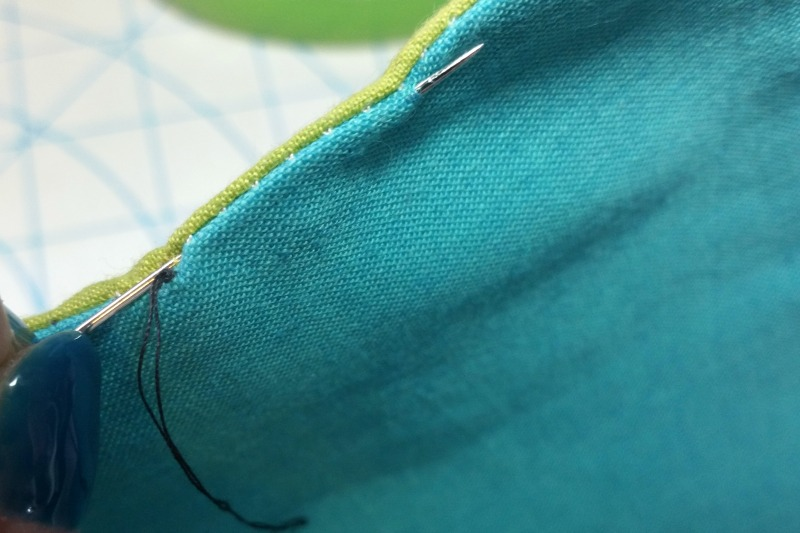 Ladder Stitch Tutorial - Goatfish Goods